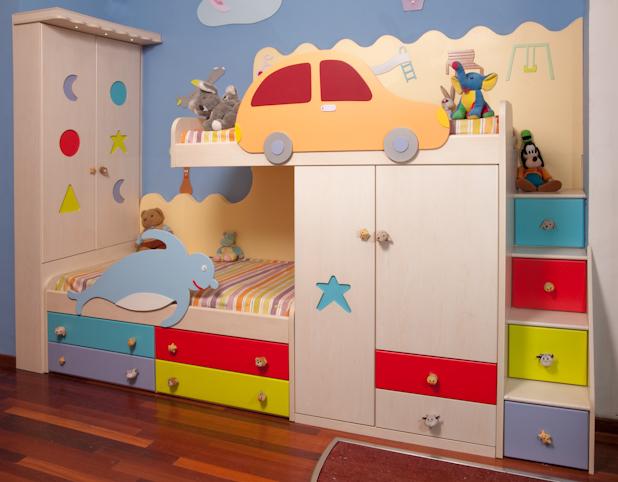 غرف نوم اطفال مودرن 2017