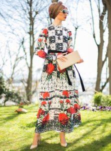 الوانات ملابس المحجبات التركية لعام 2016