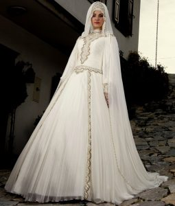 فساتين زفاف جميلة تركية للمحجبات 2016