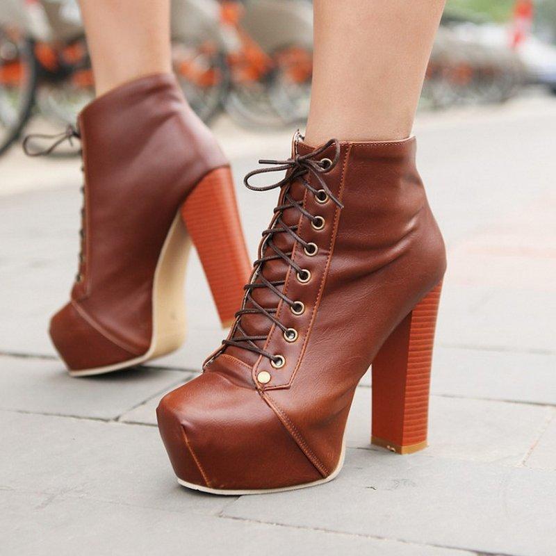 احذية شتوية للبنات العصرية من تركيا