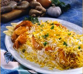 الدجاج المحمر مع الارز بالزعفران – اطباق رمضانية سعودية