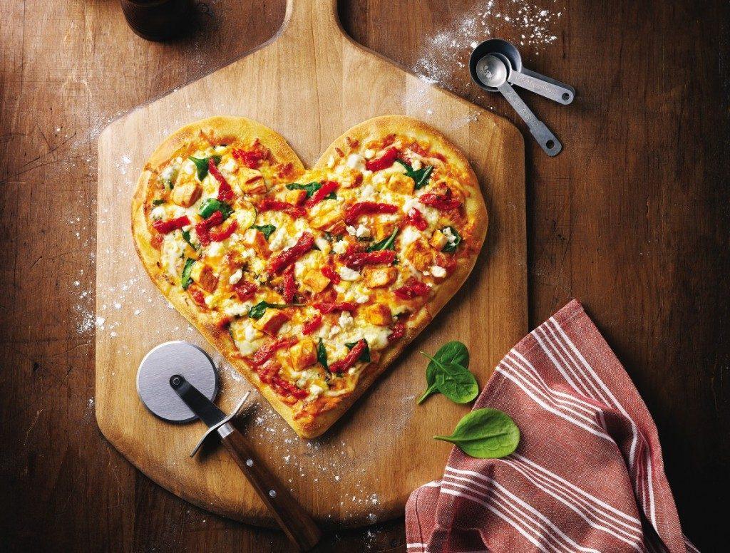 بيتزا قلوب الرمضانية بالصور 2017