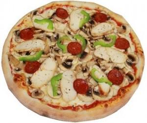 طريقة عمل بيتزا الباذنجان بالصور