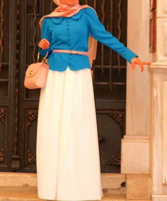 اخر صيحات حجابات ربيعية www.fatakat-ar.commo