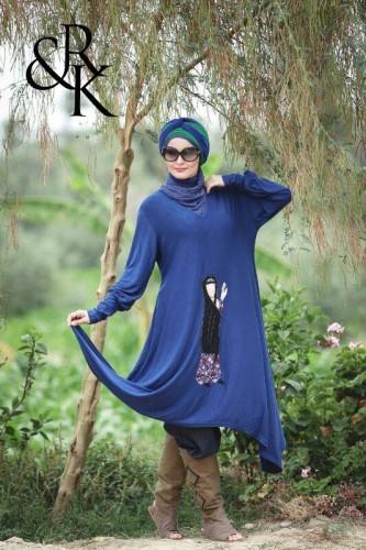 ملابس محجبات كاجوال 2015