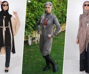 ملابس محجبات شتاء 2015
