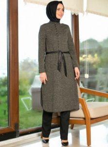 ملابس محجبات تركية موضة 2016 للشتاء العصري